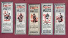 TRADE/ cigarette cards Costumes of the World, 1955  by Typhoo Tea